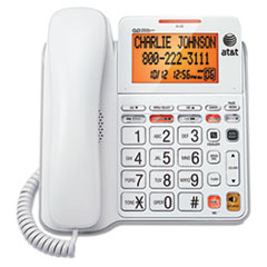 AT&T® CL4940 Corded Speakerphone with Digital Answering System