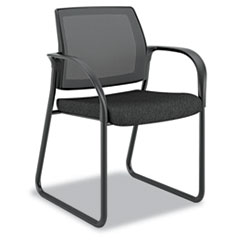 HON® Ignition® Series Mesh Back Guest Chair with Sled Base Thumbnail