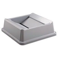 Rubbermaid® Commercial Untouchable® Square Swing Top Lid