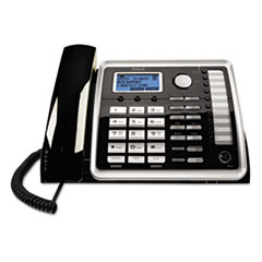 RCA® ViSYS 25260 Two-Line Corded Wireless Speakerphone