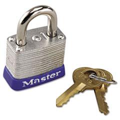 Master Lock® No. 7 Laminated Steel Pin Tumbler Padlock