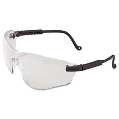 Honeywell Uvex™ Falcon Eyewear, Black Frame, Clear XTR Lens