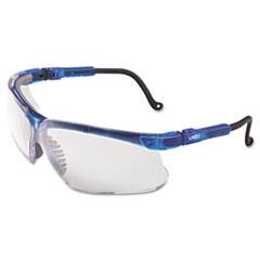 Honeywell Uvex™ Genesis Eyewear, Vapor Blue Frame, Clear UD Lens