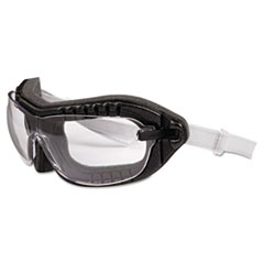 Honeywell Uvex™ Fury Goggles, Black Frame