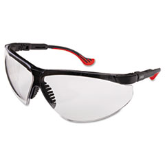 Honeywell Uvex™ Genesis XC Two-Shot Safety Glasses, Black Frame, Clear Lens