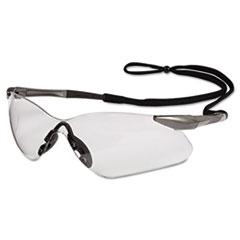 Jackson Safety* V30 Nemesis VL Safety Glasses, Gun Metal Frame, Clear Lens