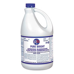 Pure Bright® Liquid Bleach, 1 gal Bottle, 6/Carton
