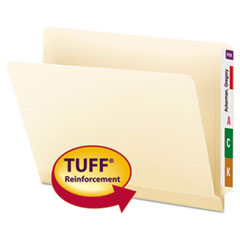 Smead® TUFF® Laminated End Tab Folders with Shelf-Master® Reinforced Tab Thumbnail