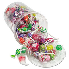 Office Snax® Top o' the Line Pops, Candy, 3.5 lb Tub