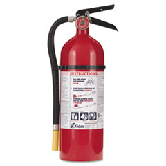 Kidde ProLine Pro 5 Multi-Purpose Dry Chemical Fire Extinguisher, 8.5lb, 3-A, 40-B:C