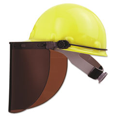 Fibre-Metal® by Honeywell High Performance Protective Cap Brackets, Faceshield Peak Mounting, Dielectric