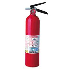 Kidde ProLine Pro 2.5 Multi-Purpose Dry Chemical Fire Extinguisher, 4.2lb, 1-A, 10-B:C