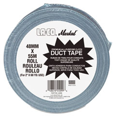 """Markal® Duct Tape. 2"""" x 60yd, Silver Gray"""