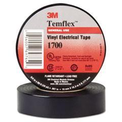 "3M Temflex 1700 Vinyl Electrical Tape, 3/4"" x 60ft MMM69764"