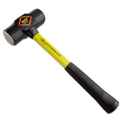 "NUPLA® Steel-Head Sledge Hammer, 4lb, 17"" Tool Length, CS Grip, Fiberglass Handle"