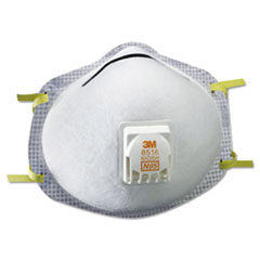 3M™ N95 Particulate Respirator, Nuisance Level Acid-Gas Relief