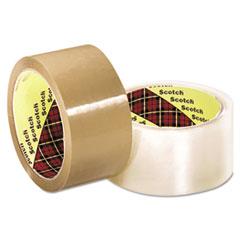 3M™ Scotch 371 Industrial Box Sealing Tape, Clear, 48mm x 50m