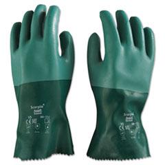 ANS835210 - Scorpio Neoprene Gloves, Green, Size 10, 12 Pairs