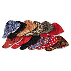 Comeaux® Deep Round Crown Cap, Size 7 1/2, Assorted Prints