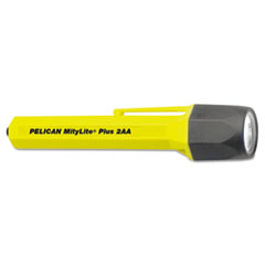 Pelican® MityLite 2340 Flashlight, 2 AA, Yellow