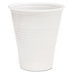 Boardwalk® Translucent Plastic Cold Cups, 12 oz, Polypropylene, 20 Cups/Sleeve, 50 Sleeves/Carton