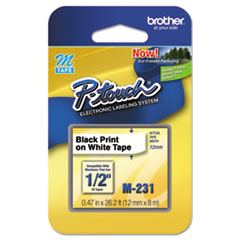 Brother P-Touch® M Series Standard Adhesive Labeling Tape Thumbnail