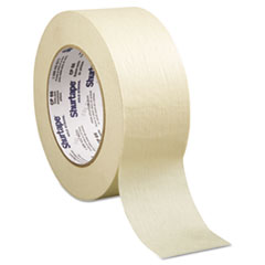 """Shurtape® Contractor/Professional Grade Masking Tape, 2"""" x 60yd, Crepe"""