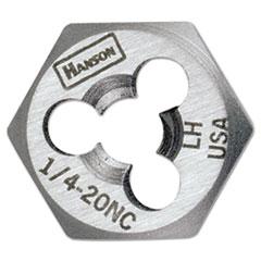 "IRWIN® High-Carbon Steel Re-Threading Fractional Hexagon Dies, 3/4""-10"