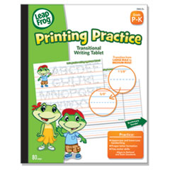 """The Board Dudes LeapFrog Transitional Writing Tablet - 80 Sheets - Printed - Ruled 8"""" x 10"""" - Multi- BDUDDT96"""