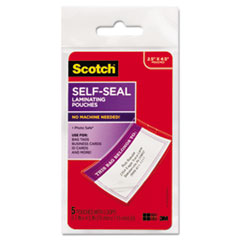 Scotch™ Self-Sealing Laminating Pouches Thumbnail