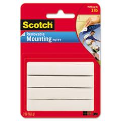 Scotch® Adhesive Putty, Nontoxic, 2 oz