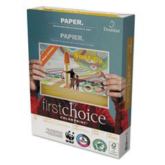 Domtar ColorPrint Premium Paper, 98 Brightness, 28lb, 8 1/2 x11, White, 500 Sheets/Ream