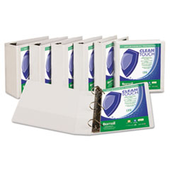 Samsill® Clean Touch™ Locking D-Ring View Binder Protected with an Antimicrobial Additive