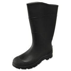 SERVUS® by Honeywell CT Economy Knee Boots, Size 9, 15in Tall, Black, PVC
