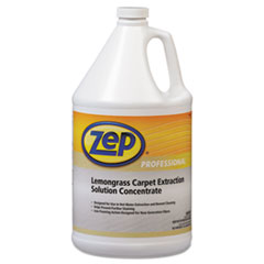 Zep Professional® Carpet Extraction Cleaner, Lemongrass, 1gal Bottle
