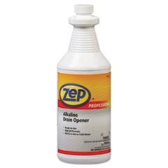Zep Professional® Alkaline Drain Opener Quart Bottle