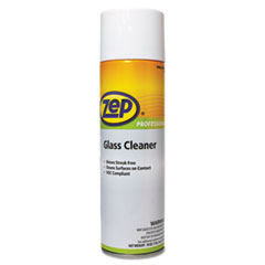 Zep Professional® Glass Cleaner, 18 oz Can, 12/Carton