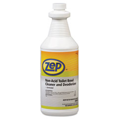 Zep® Professional Toilet Bowl Cleaner, Non-Acid, qt, Bottle ZPP1041410