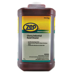 Zep Professional® Cherry Industrial Hand Cleaner, Cherry, 1 gal Bottle, 4/Carton