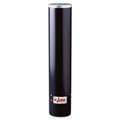 Igloo® Cup Dispenser, 4-4.5oz, Black, Plastic