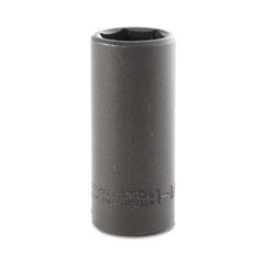 "PROTO® Torqueplus Deep Impact Socket, 1/2"" Drive, 1-1/16"" Opening, 6-Point"