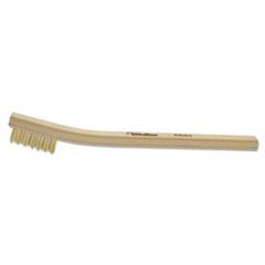 Weiler® BH-37-B Small Hand Scratch Brush, Brass, Small, .006