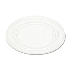 Pactiv Crystal-Clear Portion Cup Lids, 5.5 oz., Clear, 125/Bag, 25/Bags Carton