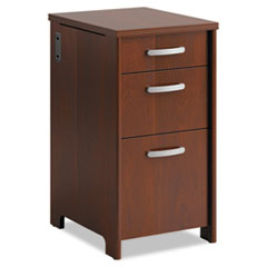 Office Connect by Bush Furniture Envoy Series Three-Drawer Pedestal Thumbnail