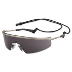 MCR™ Safety Triwear Metal Protective Eyewear, Platinum Frame, Gray Anti-Fog Lens