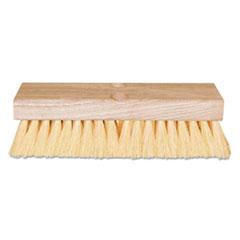 "Magnolia Brush Deck Scrub Brush, w/Handle, 10"""