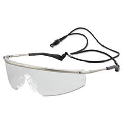 MCR™ Safety Triwear Metal Protective Eyewear, Platinum Frame, Clear Anti-Fog Lens