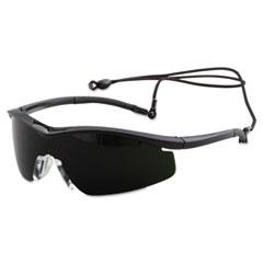 MCR™ Safety Triwear Protective Eyewear, Onyx Frame, IR 5.0 Lens