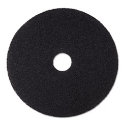 "3M™ Low-Speed Stripper Floor Pad 7200, 16"" Diameter, Black, 5/Carton"