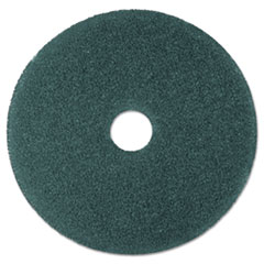 "3M™ Cleaner Floor Pad 5300, 19"" Diameter, Blue, 5/Carton"